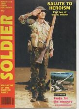 August British Army Military & War Magazines in English