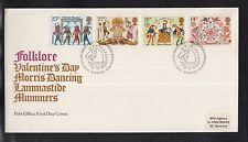K 01) Gran Bretagna Europa CEPT FDC 1981-folklore