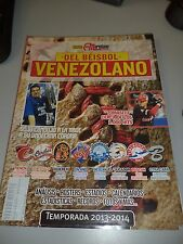 VENEZUELAN BASEBALL MAGAZINE SEASON 2013 2014 CECIL FIELDER LUIS SOJO 106 PAGES