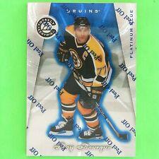 RAY BOURQUE 1997-98  CERTIFIED PLATINUM BLUE 1918/3099  #41  Boston Bruins