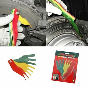 Brake Pad Thickness Gauge Set 2mm To 12mm Colour Coded Feeler Gauge