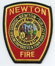 NEWTON MASSACHUSETTS MA FIRE PATCH
