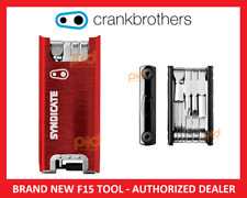 NEW LTD EDITION Crank Brothers F15 Multi-Tool SYNDICATE RED Road MTN Bike Bros