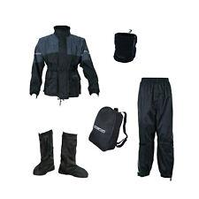 Tuta Anti pioggia Antipioggia MOTO Giacca Pantalone Copristivali Pile TG XXL KIT
