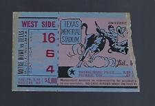 1952 NCAA NOTRE DAME FIGHTING IRISH @ TEXAS LONGHORNS FOOTBALL TICKET STUB