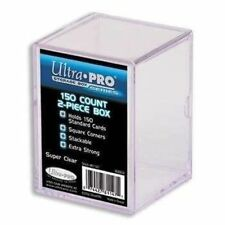 Ultra Pro 2 X 150 Count Trading Card Hard Plastic Storage Case