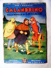 CALANDRINO Polo Edizioni Educative Economiche 1939