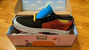 Vans x The Simpsons SK8 Low El Barto Shoes Limited BRAND NEW VN0A4UUK17A Size 8