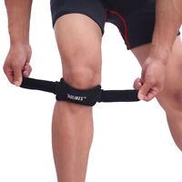 Soft Brace Knee Protector Belt Adjustable Patella Tendon Strap Guard Support