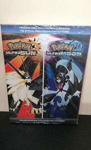 POKEMON ULTRA SUN & ULTRA MOON OFFICIAL STRATEGY GUIDE *BRAND NEW SEALED*