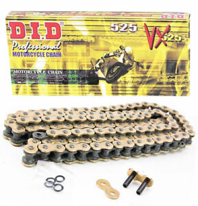 FITS Ducati 916 Monster S4 2001-2003 DID VX Gold Heavy Duty X-Ring Chain