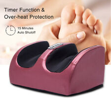 Shiatsu Foot Calf Massager Ankle Leg Muscle Electric Remote Massage Machine UK