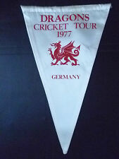 Pennant- 1977 DRAGONS CRICKET TOUR, GERMANY (Org*)