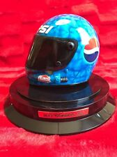 Jeff Gordon Action RCCA NASCAR Pepsi Racing Helmet 1:3 Scale w / Display Case