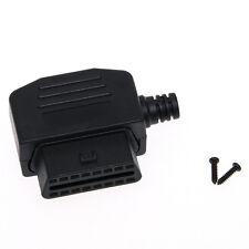 Universal OBD2 Female Diagnose Stecker OBDII 16 Pin Diagnosegerät Adapter Plug