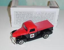 1/25 Case-IH 1940 Ford Truck Bank! Sharp!