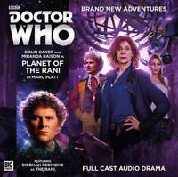 Planet of the Rani (Doctor Who principale GAMMA) DI PLATT , MARC AUDIO CD LIBRO