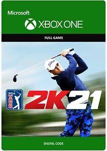 PGA Tour 2K21 (Microsoft Xbox One / Series X) - Digital Code