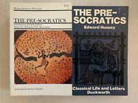 The Pre-Socratics - 2 Book Lot - Alexander P. D. Mourelatos & Edward Hussey