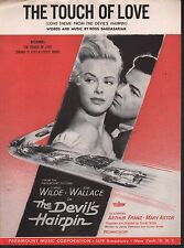 The Touch of Love 1957 Cornel Wilde Jean Wallace The Devil's Hairpin Sheet Music