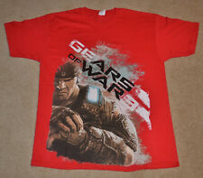 NEW GEARS OF WAR 3 Marcus Fenix Shirt RED XLarge XL PROMO Microsoft Store GOW