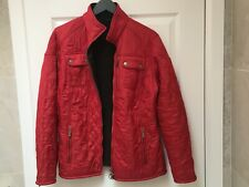 Barbour Ladies Red Quilted Jacket - Size 14