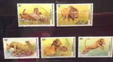 Congo - Lions Animals Fauna on postage stamps MNH** - Del.3