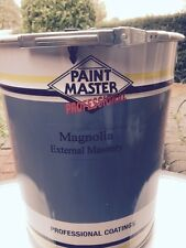 MAGNOLIA EXTERIOR MASONRY SMOOTH BEST QUALITY 20lts PAINTMASTER PAINT.