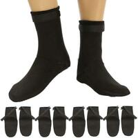 Adult Unisex 3mm Neoprene Diving Scuba Surfing Snorkeling Swimming Socks M-XL