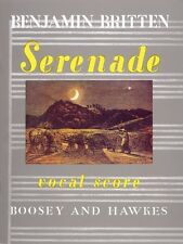 Serenade for Tenor Op. 31 Tenor solo with Horns and Strings Voice NEW 048008997