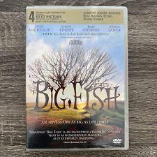 Big Fish Dvd Tim Burton (Dir) 2003 Swan McGregor Jessica Lang