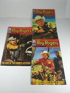 Roy Rogers Western Lot Bundle #1,2,3 1998/99 AC Comics Pre-Owned