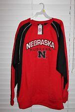 Nebraska Cornhuskers Starter NCAA L/S Sweatshirt NWT Size Adult L 16-18