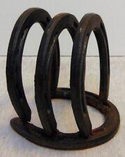 St Croix Forge Horse Shoe Napkin Holder Western Decor / Platform Heels for Horse