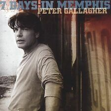 Peter Gallagher 7 Days In Memphis 10 track 2005 cd