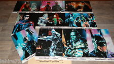 schwarzenegger BATMAN ET ROBIN  !  jeu photos cinema lobby card