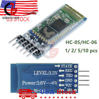 HC-05 /HC-06 6Pin Wireless Bluetooth RF Transceiver Module Serial For Arduino