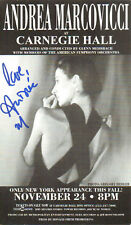 Andrea Marcovicci - Actress - The Front / The Stuff / The Hand - Autograph Card