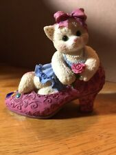 Decor.~Figurine~Kittens It's Not Easy To Fill Your Shoes #314501 P. Hillman