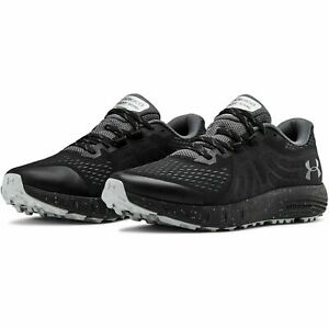 Under Armour 3021951 Men's Black UA Charged Bandit Trail Hiking Shoes, Size 9