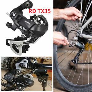 Schaltwerk TX35 6/7/8 fach Schaltung Fahrrad Rennrad MTB Retro Ersatz schwarz DE