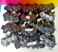 Broken SONY PS2 OEM Official Controller Dual Shock Wired Playstation 2 Lot BROKE