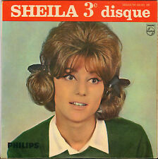 """SHEILA """"PENDANT LES VACANCES"""" EP 60'S PHILIPS 432.931"""