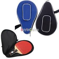 New Waterproof Nylon Table Tennis Racket Bag PingPong Paddle Bat Case 01 YUUS
