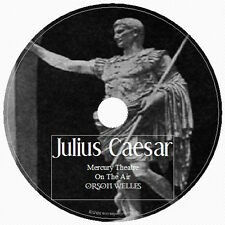 JULIUS CAESER:THE REHEARSAL by Orson Welles 1 Audio CD Radio Drama English