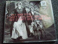 PET Shop Boys-I dont know what you want... CD Maxi