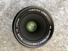 YASHICA ML MACRO 55mm 1:2.8 Objektiv z.B. für Contax 137 + sehr gut +
