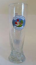Oberdorfer Weiznebier German Beer Glass 0.5L SOHM 16oz Germany