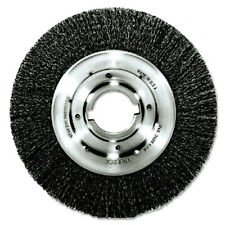 Weiler Crimped Steel Wire Brush 06160 Tlm-10 .014 2in10in Dia Me