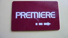 1 x Premiere Card S02 SAT TV Karte Smartcard NagraVision abgelaufen(?)